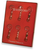 Waterford Silver Ornament Enhancers - Set of 6