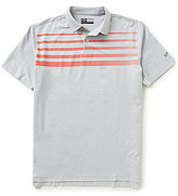 Callaway Golf Faded Striped Polo Shirt