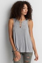 American Eagle Outfitters AE Soft & Sexy Strappy Detail Tank