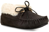 Minnetonka Junior Jackie Faux Fur Lined Bootie Slipper (Women)