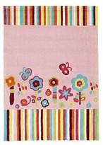 Rug Culture Floral Patterned Pink Kids Rug 220 x 150cm
