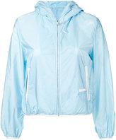 Prada hooded zip up jacket