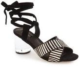 Topshop Women's 'Raffle' Ankle Strap Sandal