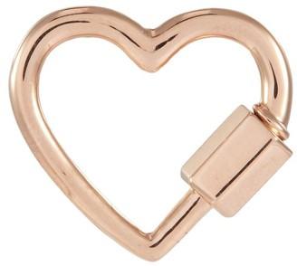 Marla Aaron 'Heart' 14k rose gold baby lock