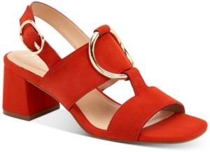 Alfani Women's Step N' Flex Gwenna Ring-Hardware Dress Sandals, Created for Macy's Women's Shoes