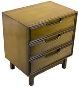 One Kings Lane Vintage Midcentury 3-Drawer Nightstand