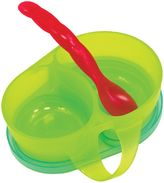 Sassy First Solids Feeding Bowl with Spoon in BlueRed