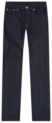 Sandro Raw Denim Skinny Jeans