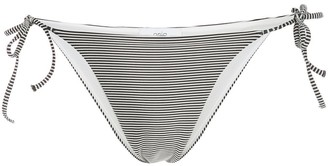 Onia Kate striped print bikini bottom