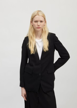 Ann Demeulemeester Wool Single-breasted Blazer