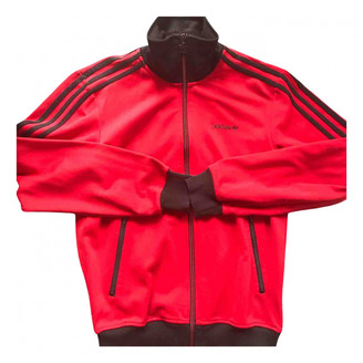adidas Red Cotton Jackets