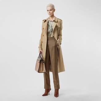 Burberry Panelled-sleeve Cotton Gabardine Oversized Trench Coat