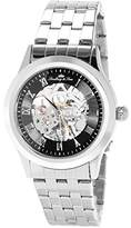 Lindberg & Sons CHP188 - wrist watch for men - skeleton - automatic movement - analog display - stainless steel bracelet