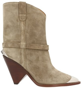 Isabel Marant Lamsy heeled ankle boots