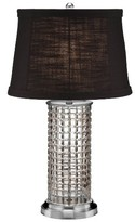 Waterford Kilrush Lead Crystal & Chrome Table Lamp