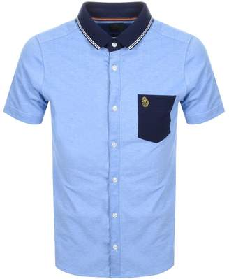 Luke 1977 Albion Polo T Shirt Blue