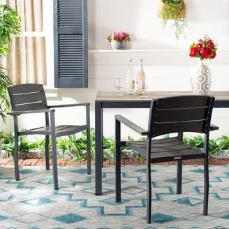 Safavieh Outdoor Living Gerhardt Chair - Grey