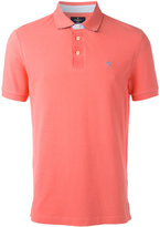 Hackett logo patch polo shirt - men - Cotton - S