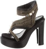 Givenchy Zipper Platform Sandals