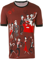 Dolce & Gabbana printed T-shirt - men - Cotton - 46