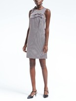 Banana Republic Double-Bow Shift Dress