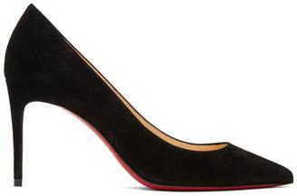 Christian Louboutin Black Suede Kate 85 Heels