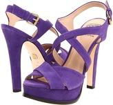 Pour La Victoire Hiro (Purple Kid Suede) - Footwear