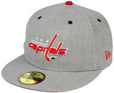 New Era Washington Capitals Heather TC 59FIFTY Cap