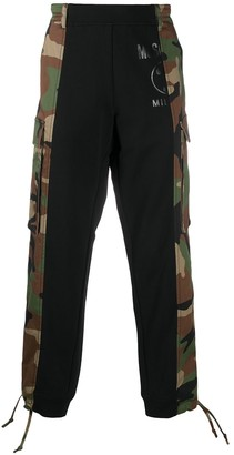 Moschino Camouflage Panel Track Pants