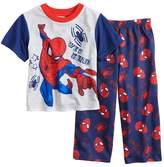 "Marvel Toddler Boy Spider-Man ""Web Head"" Graphic Top & Pants Pajama Set"