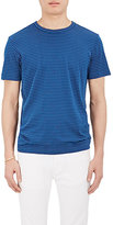 Theory Men's Striped Cotton-Blend T-Shirt