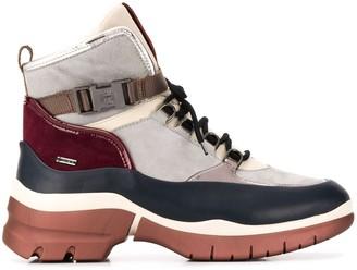 Högl Platform Lace Up Ankle Boots