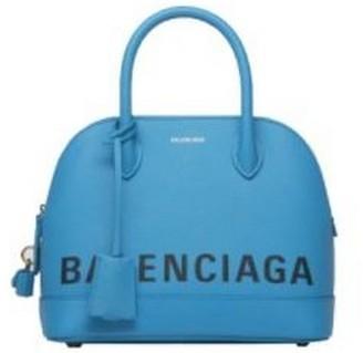 Balenciaga Blue Ville Top Handle Bag