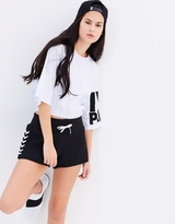 Ivy Park Logo Gathered Hem Tee