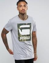 G Star G-Star Camo Logo T-Shirt
