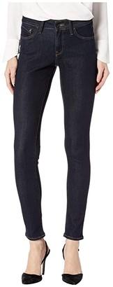 Mavi Jeans Alexa Mid-Rise Skinny in Rinse Supersoft (Rinse Supersoft) Women's Jeans