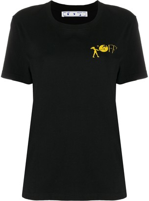Off-White logo print short-sleeve T-shirt