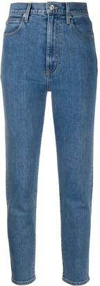 SLVRLAKE Slim-Fit Cropped Jeans