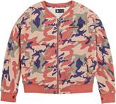Pepe Jeans Full zip camouflage sweatshirt