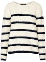 Line Beaufort Striped Intarsia-Knit Sweater