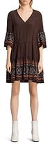 AllSaints Flori Anokhi Silk Dress