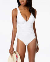 CoCo Reef Solitaire Bra-Sized Underwire Allover Slimming One-Piece Swimsuit, Available in D
