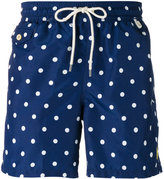 Polo Ralph Lauren polka dots swim shorts - men - Polyester - M