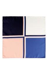 Jaeger Silk Colourblock Pocket Square