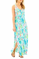 Lilly Pulitzer Maxi Side Slit Dress