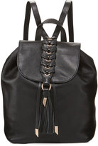 Foley + Corinna La Trenza Leather Backpack, Black