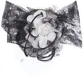House of Fraser Amy Money Harriet Lace Floral Trim & Veiling Headpiece