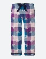 Fat Face Snowflake Jacquard Check Lounge Pants