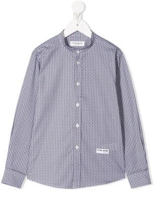 Paolo Pecora Kids Micro-Pattern Shirt