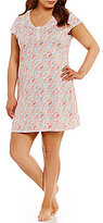 Miss Elaine Plus Wildflower Nightgown